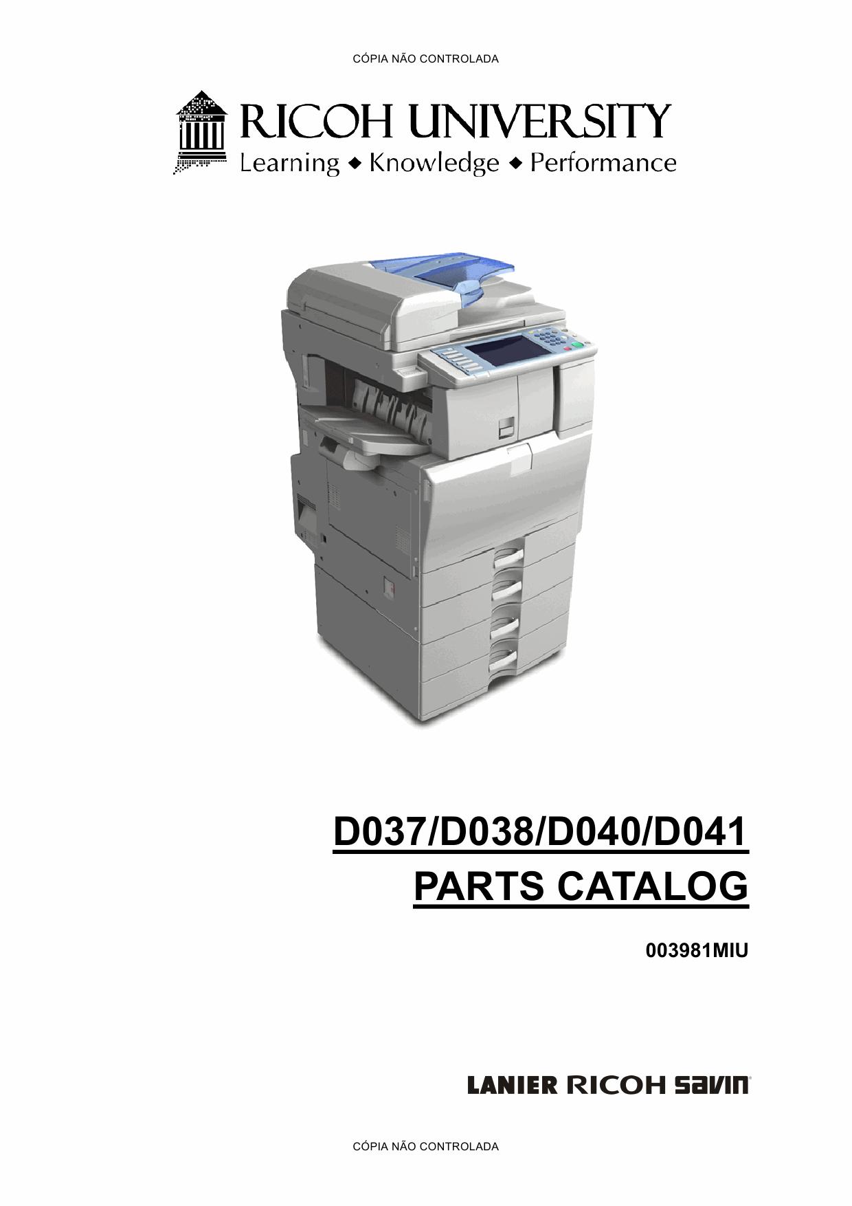 ricoh aficio mp c2550 service manual pdf